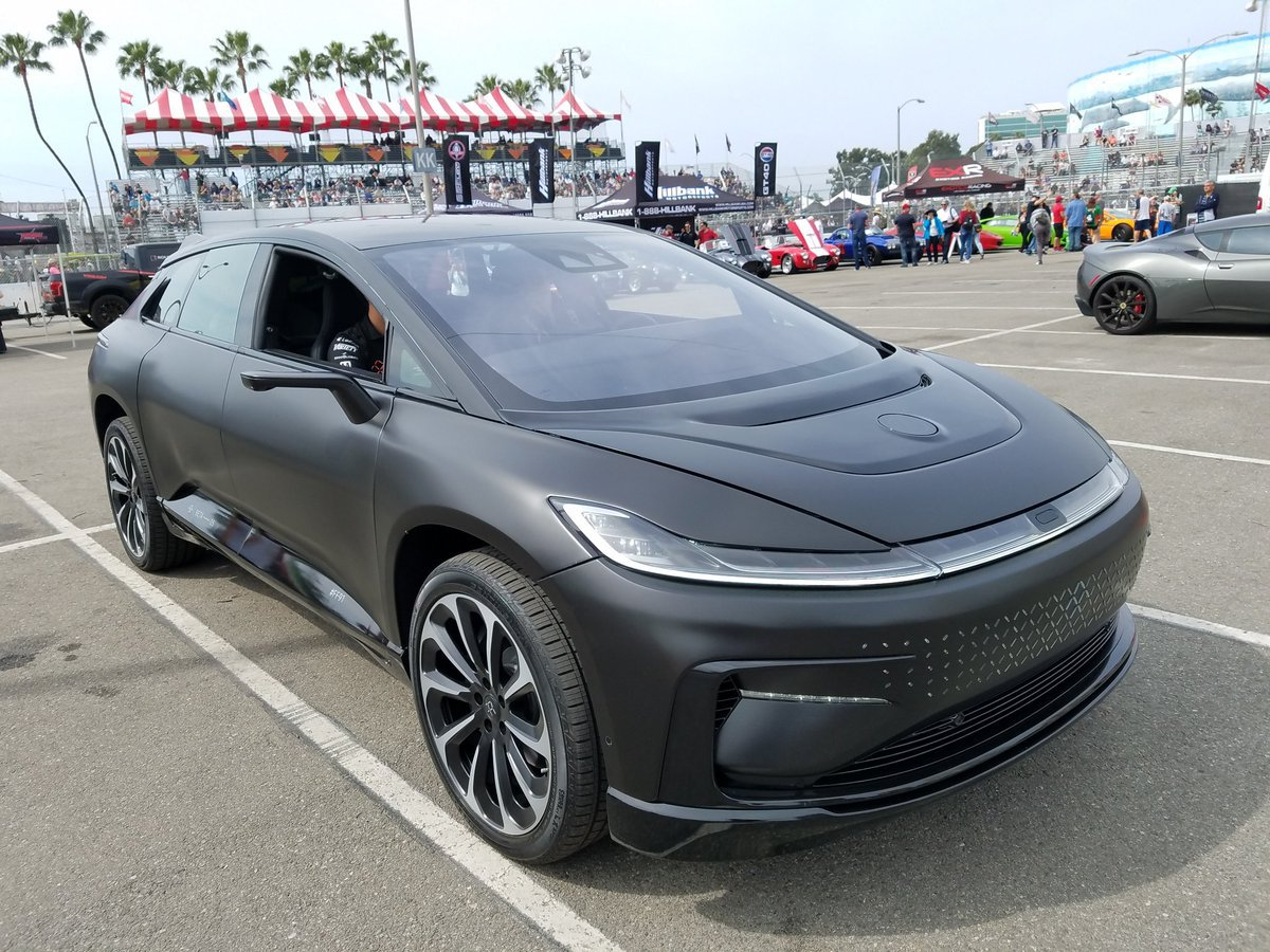 Конец близок для амбициозного электромобиля Faraday Future